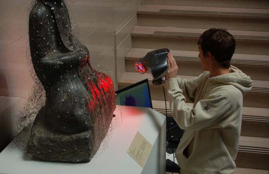 3D Laser Scanning at the Museum of Art