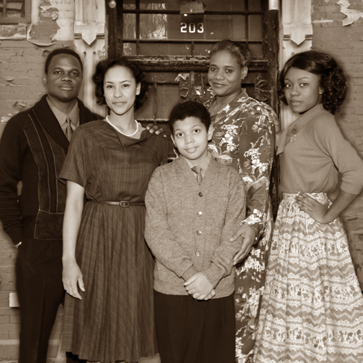 'A Raisin in the Sun' family