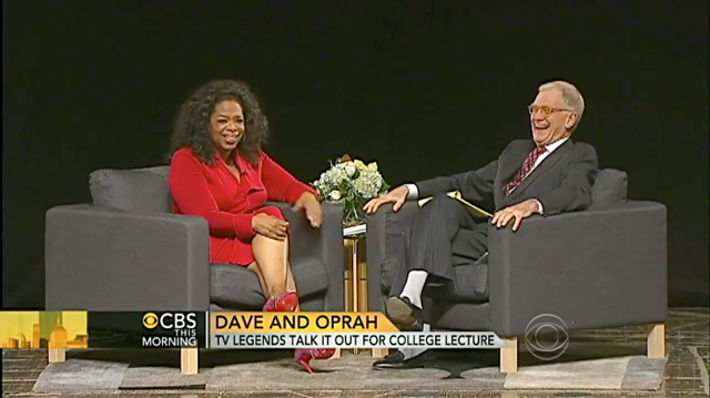 Dave + Oprah CBS This Morning Coverage