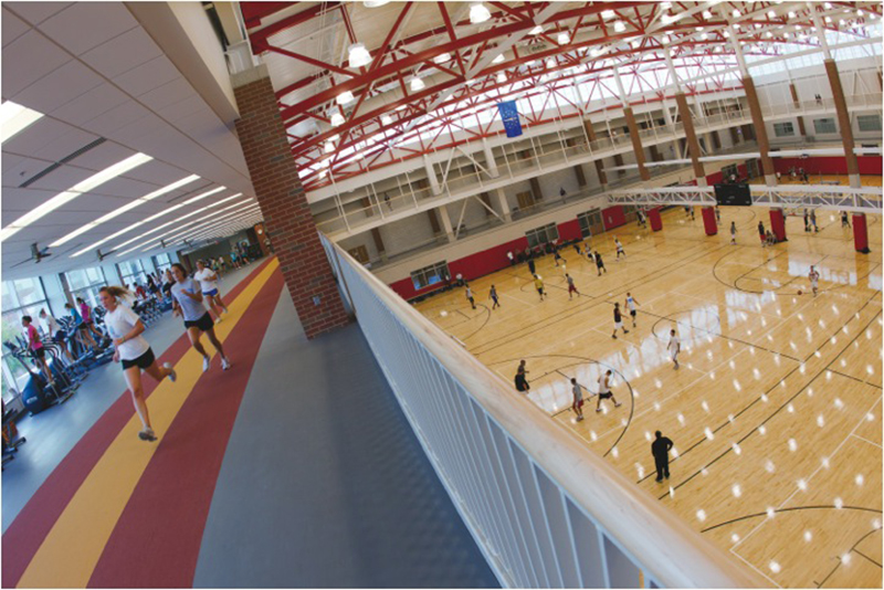 Student Recreation and Wellness Center 3