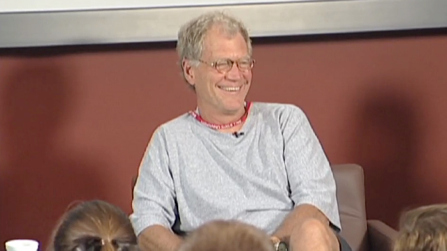 Letterman Responds to Students' Questions