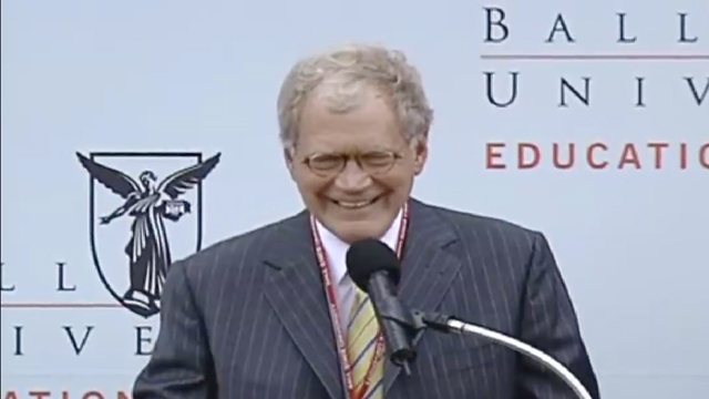 Letterman Building Dedication Remarks