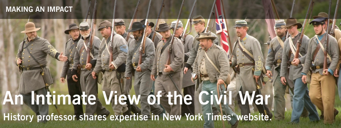 An Intimate View of the Civil War