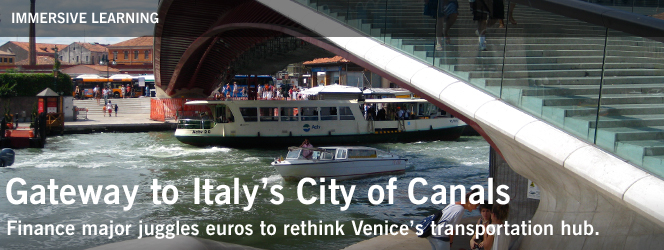 Gateway to Italy's City of Canals