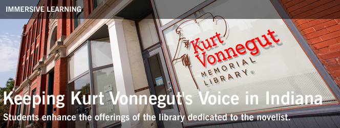 Keeping Kurt Vonnegut's Voice in Indiana
