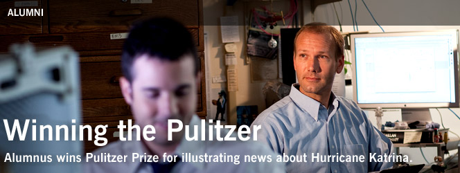 Winning the Pulitzer