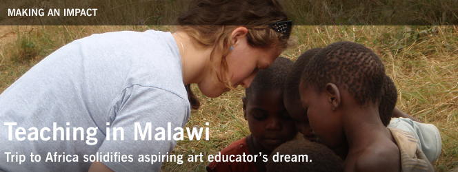 Teaching in Malawi
