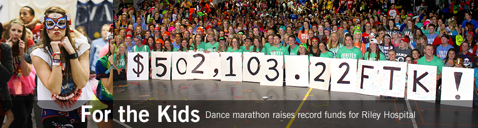 Dance marathon raises record funds for Riley Hospital