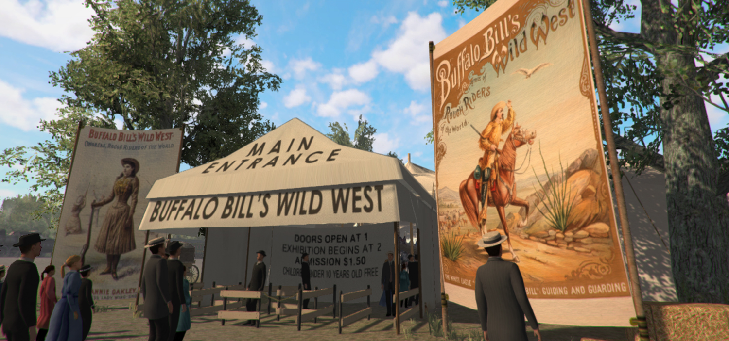 Buffalo Bill's (virtual) Wild West