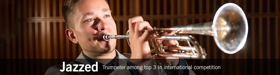 Trumpeter among top 3 in international competition