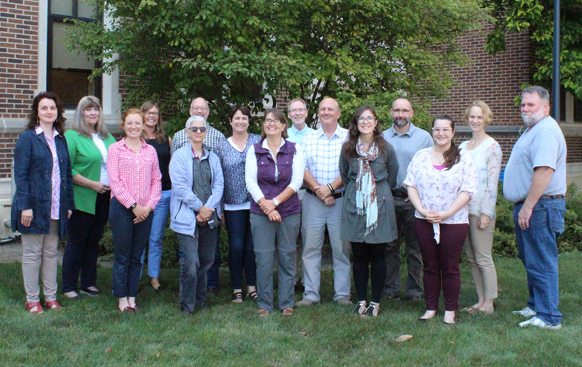 faculty and staff in the anthropology department