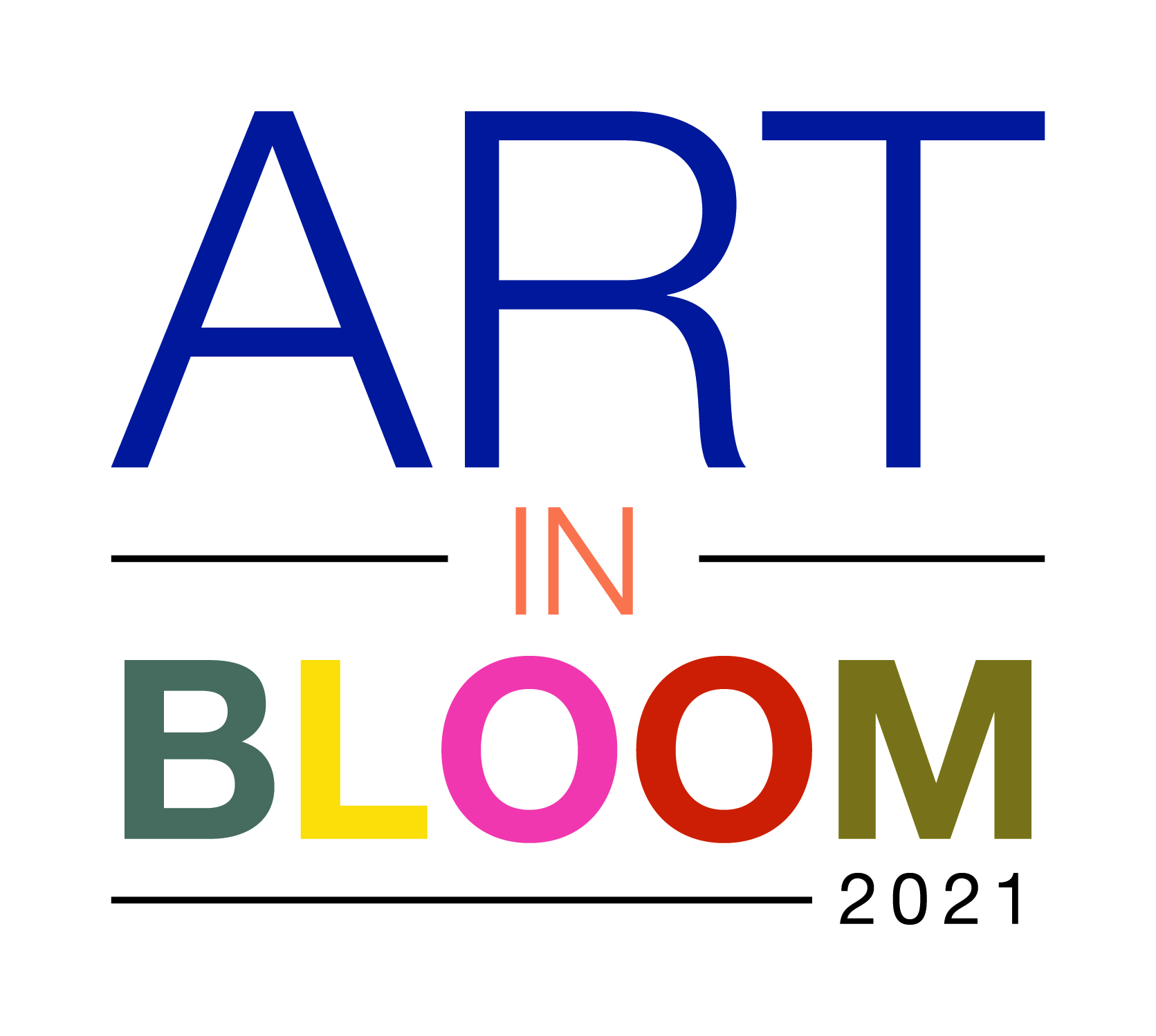 art in bloom 2021 logo