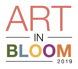 art in bloom 2019 logo