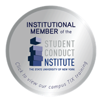 Student Conduct Institute badge