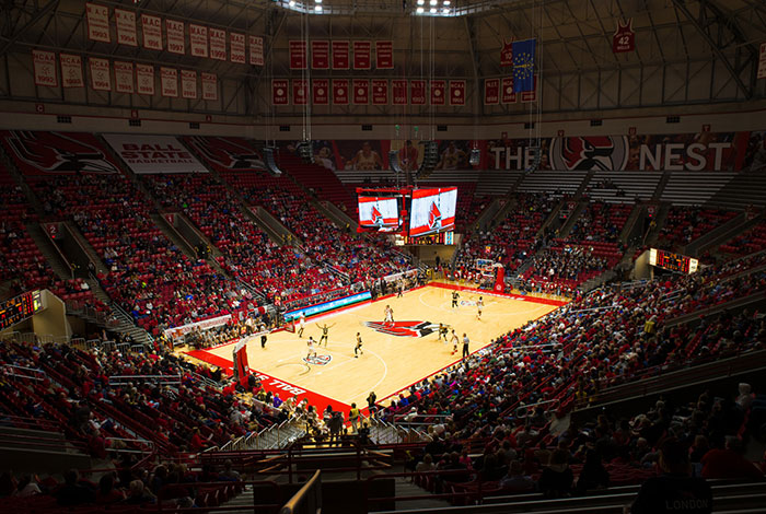 Mens Basketball game to celebrate the 25th Anniversary of Worthen Arena