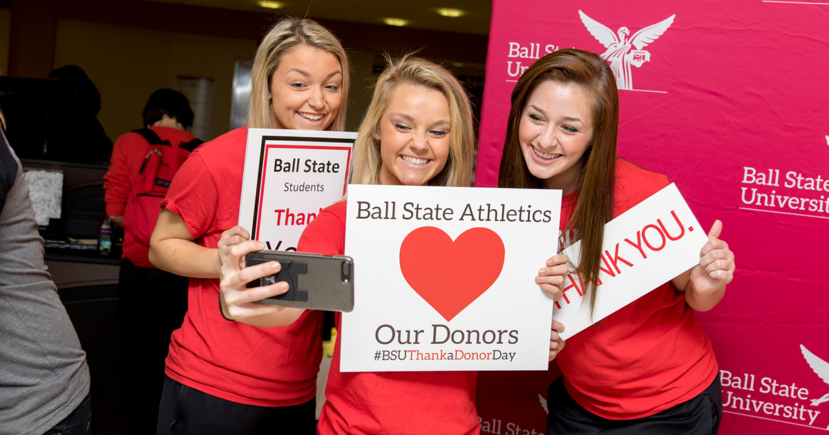Students Thank Donors