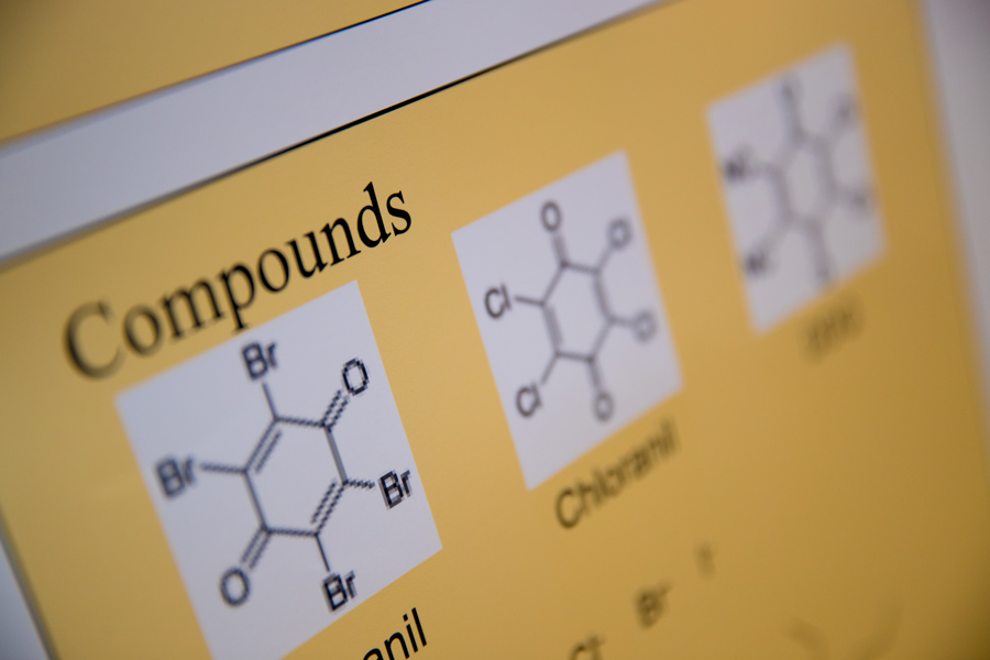chemical compound graphics