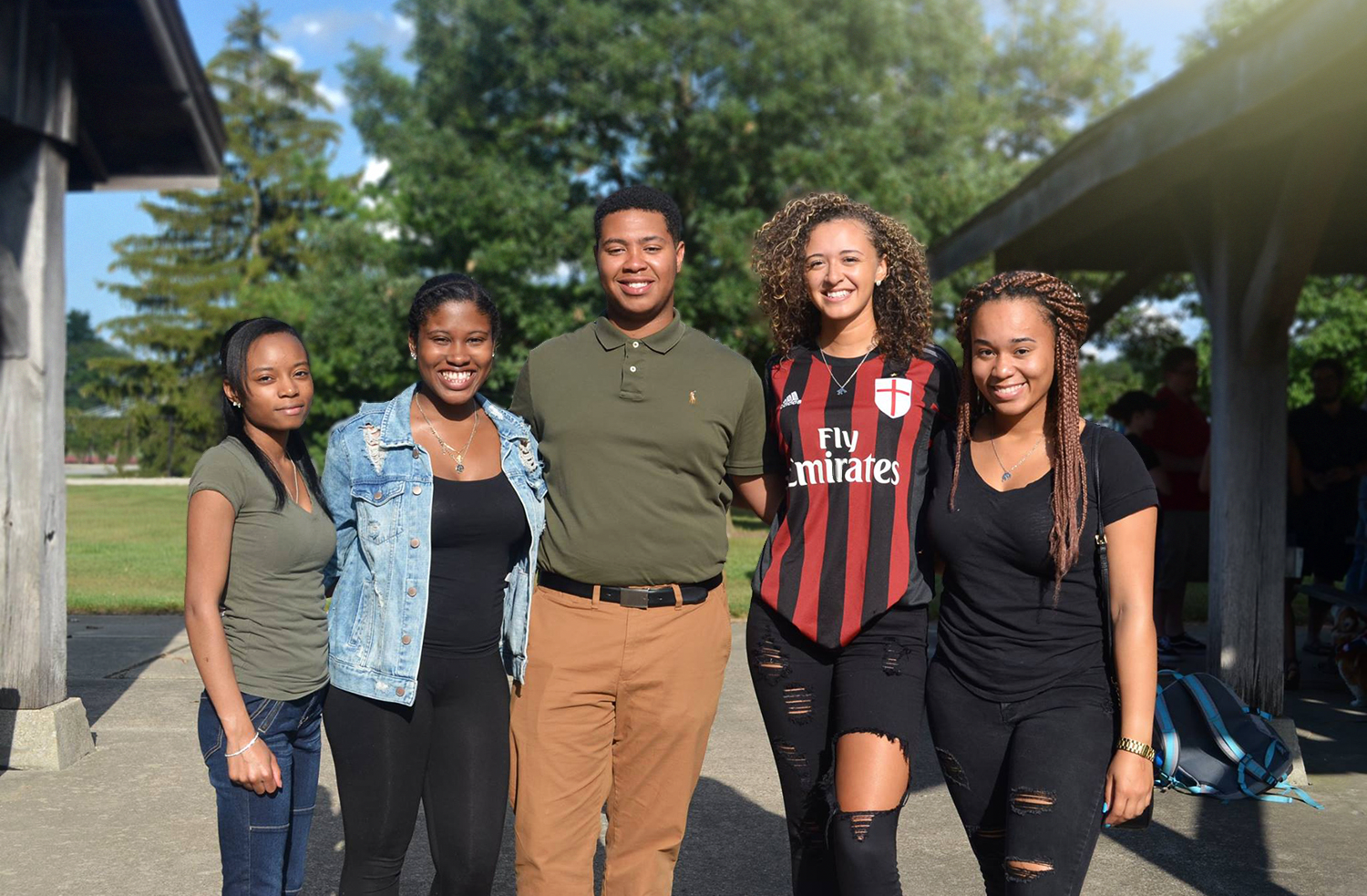 Students from the Multicultural Alliance in Criminal Justice (MACJ) Student Organization