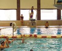 Lewellen aquatic center ball state university - San jose state university swimming pool ...