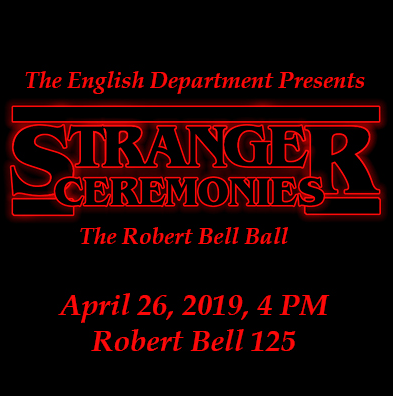 English Department Robert Bell Ball Awards Ceremony