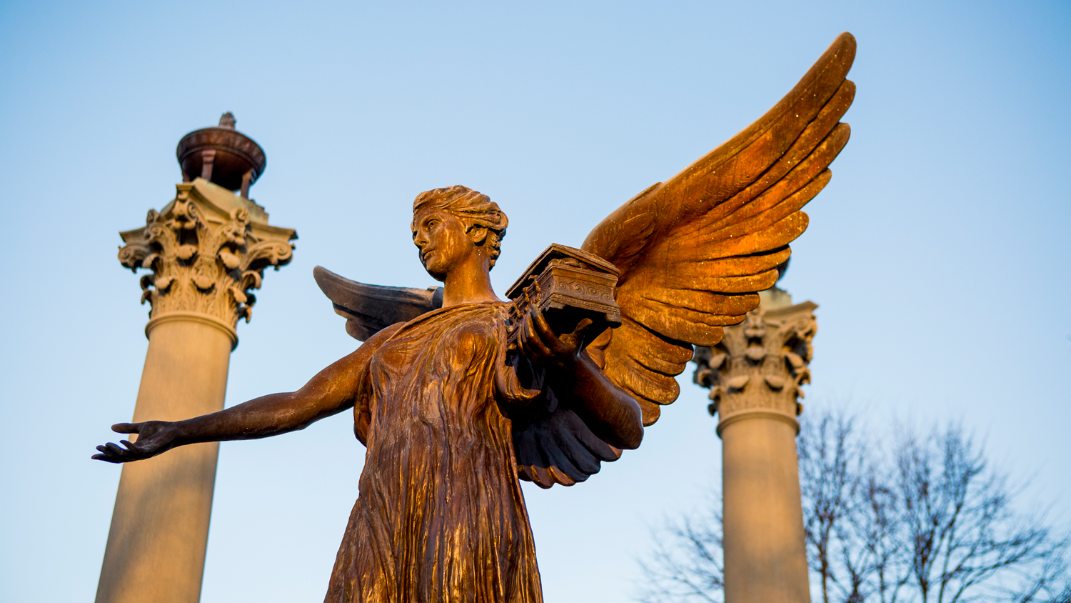 Beneficence statue