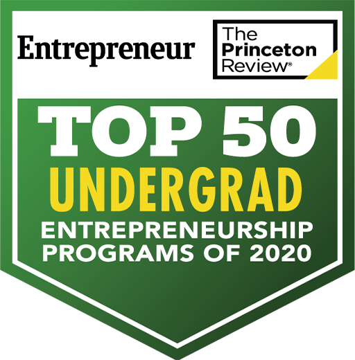 Top 25 Undergrad Entrepreneurship Programs of 2018