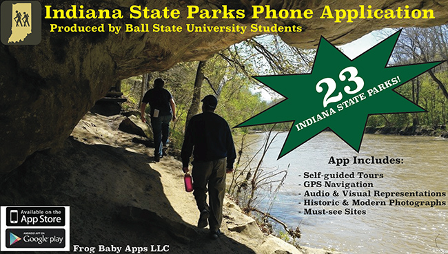 Indiana State Parks Phone Application Produced by Ball State University Students
