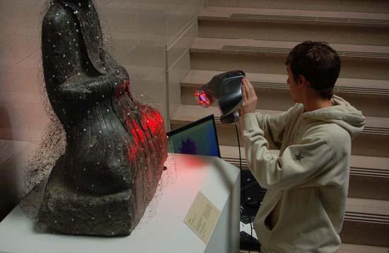3d laser scanning ball state university for Architecture 3d laser scanner