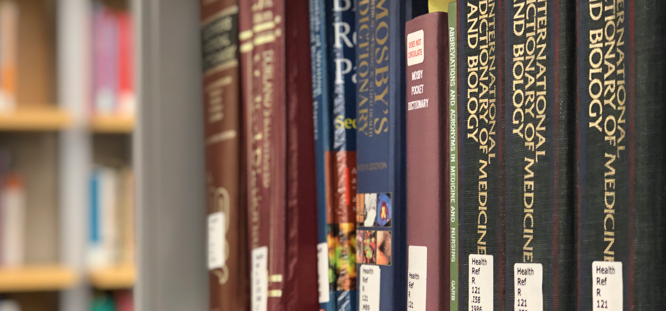 Health Library header image