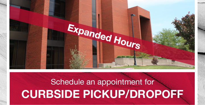 Schedule Curbside Pickup/Dropoff