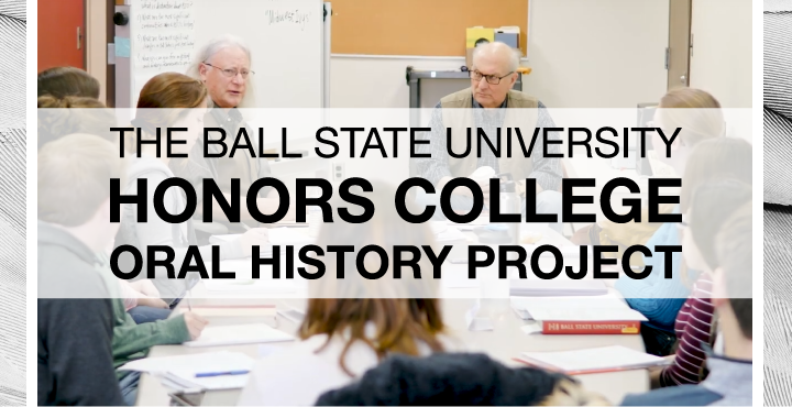 Honors College Oral History Project