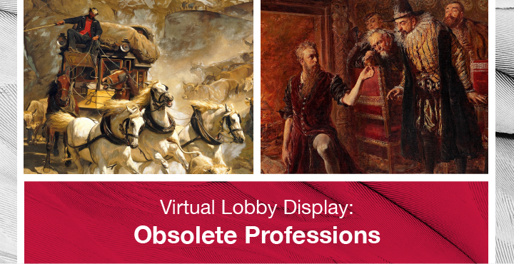 Virtual Lobby Display Obsolete Professions