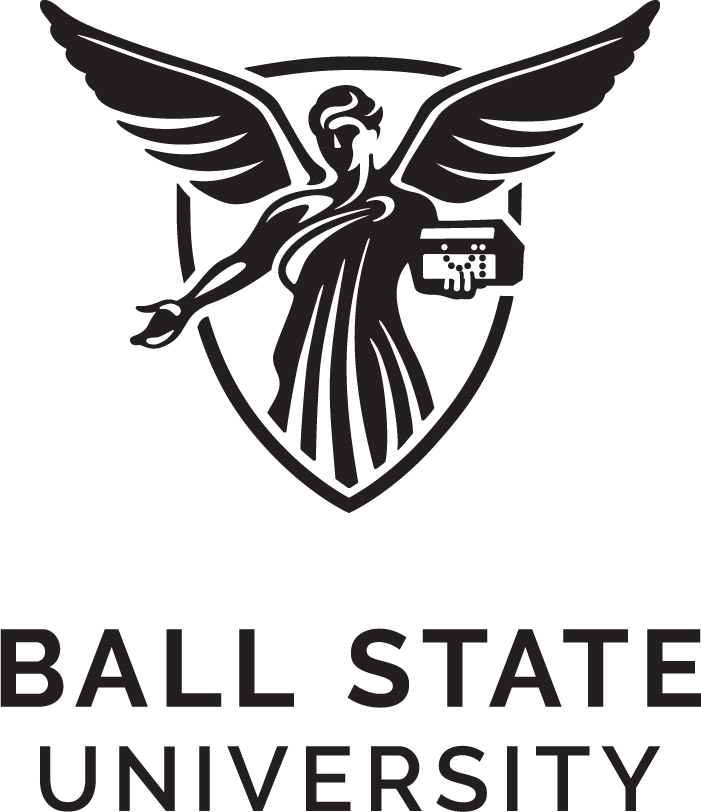Ball State Vertical Color Logo