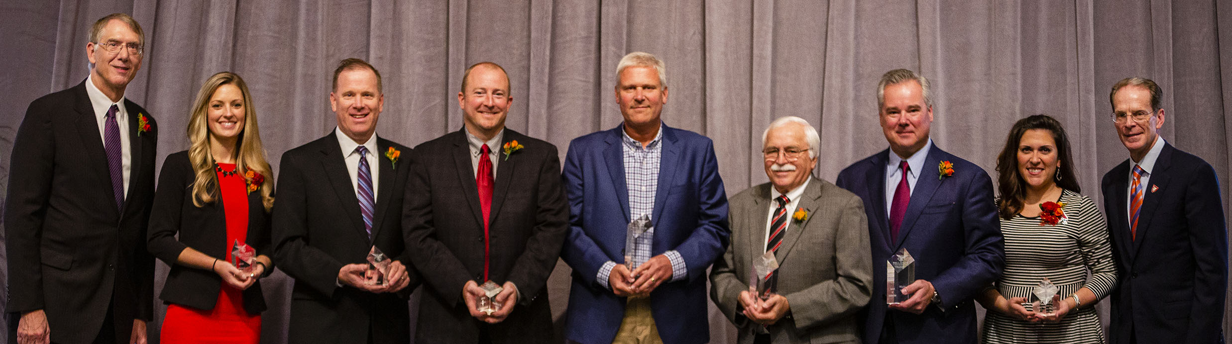 15th Annual Miller College Alumni Award Recipients Photo