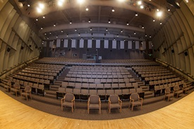 Pruis Hall from the stage