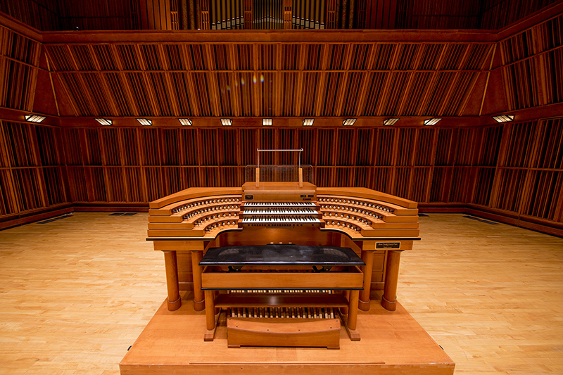organ in Sursa Performance Hall