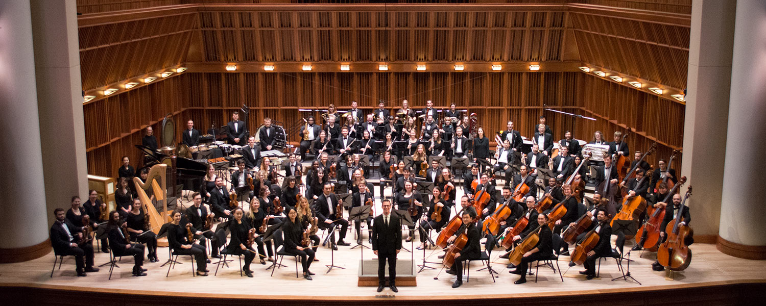 Ball State Symphony Orchestra in Sursa Performance Hall