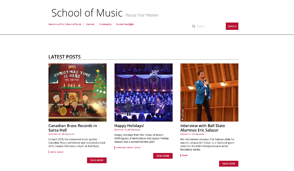 School of Music | Ball State University