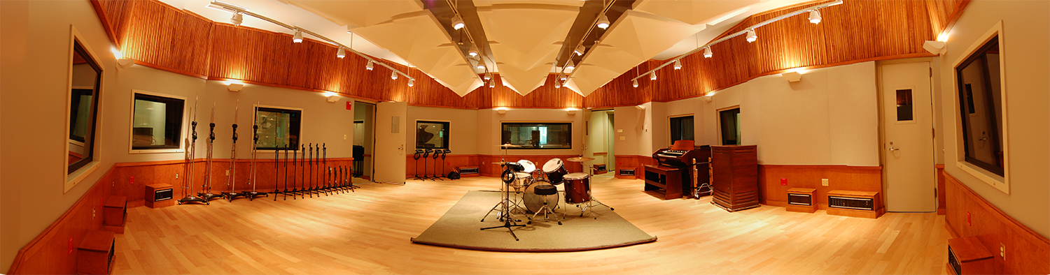 Panorama of studio 1