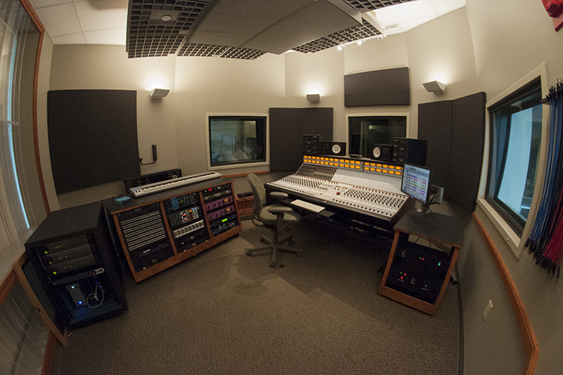 soundboard inside studio 2