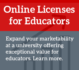 Online Licenses for Educators