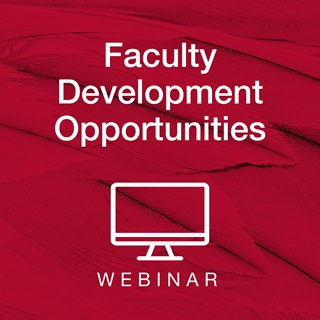 Faculty Development Opportunities Webinar