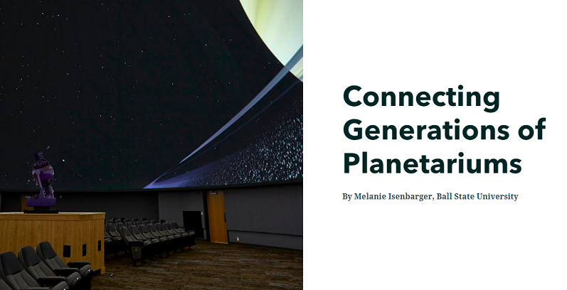 Connecting Generations of Planetariums Graphic