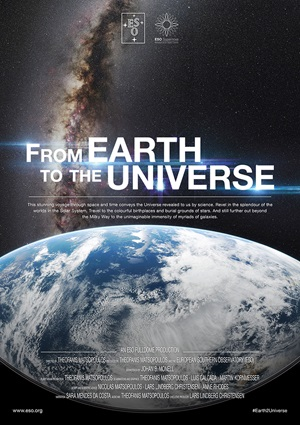 'From Earth to the Universe' poster