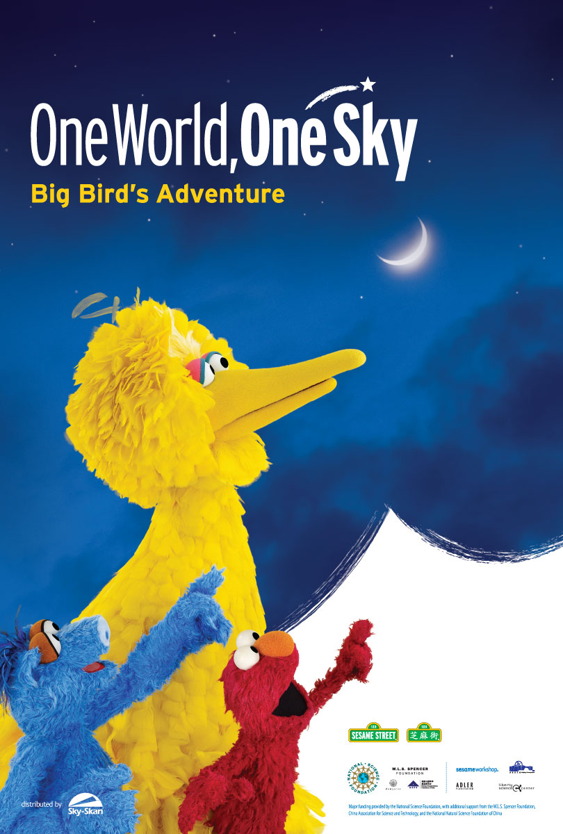 'One World, One Sky' poster