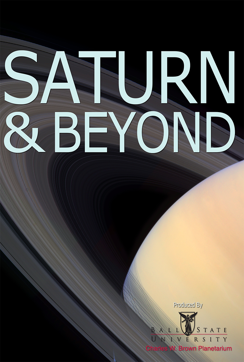 'Saturn and Beyond' poster
