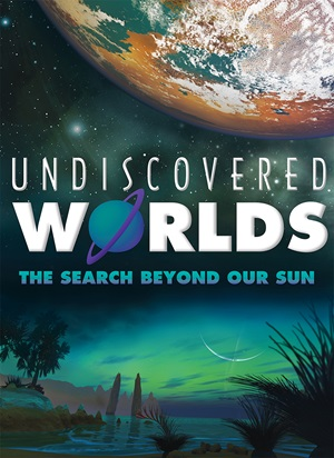 'Undiscovered Worlds' poster
