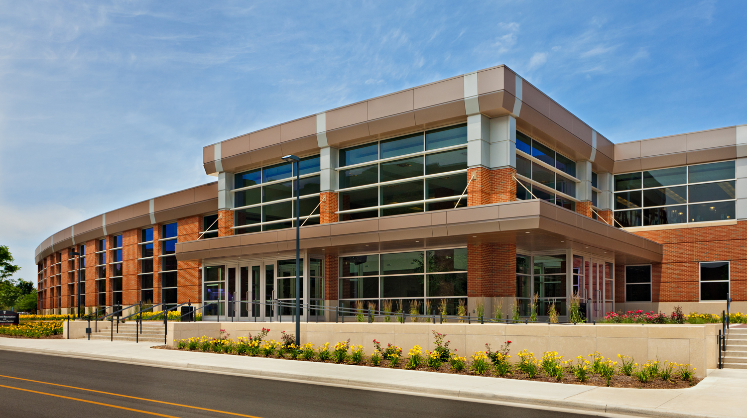 Student Recreation and Wellness Center exterior