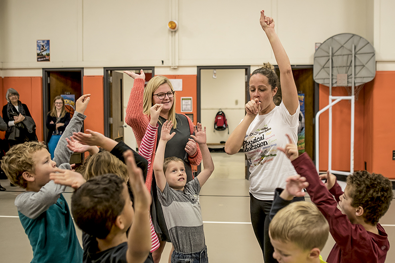 students at Indiana School for the Deaf