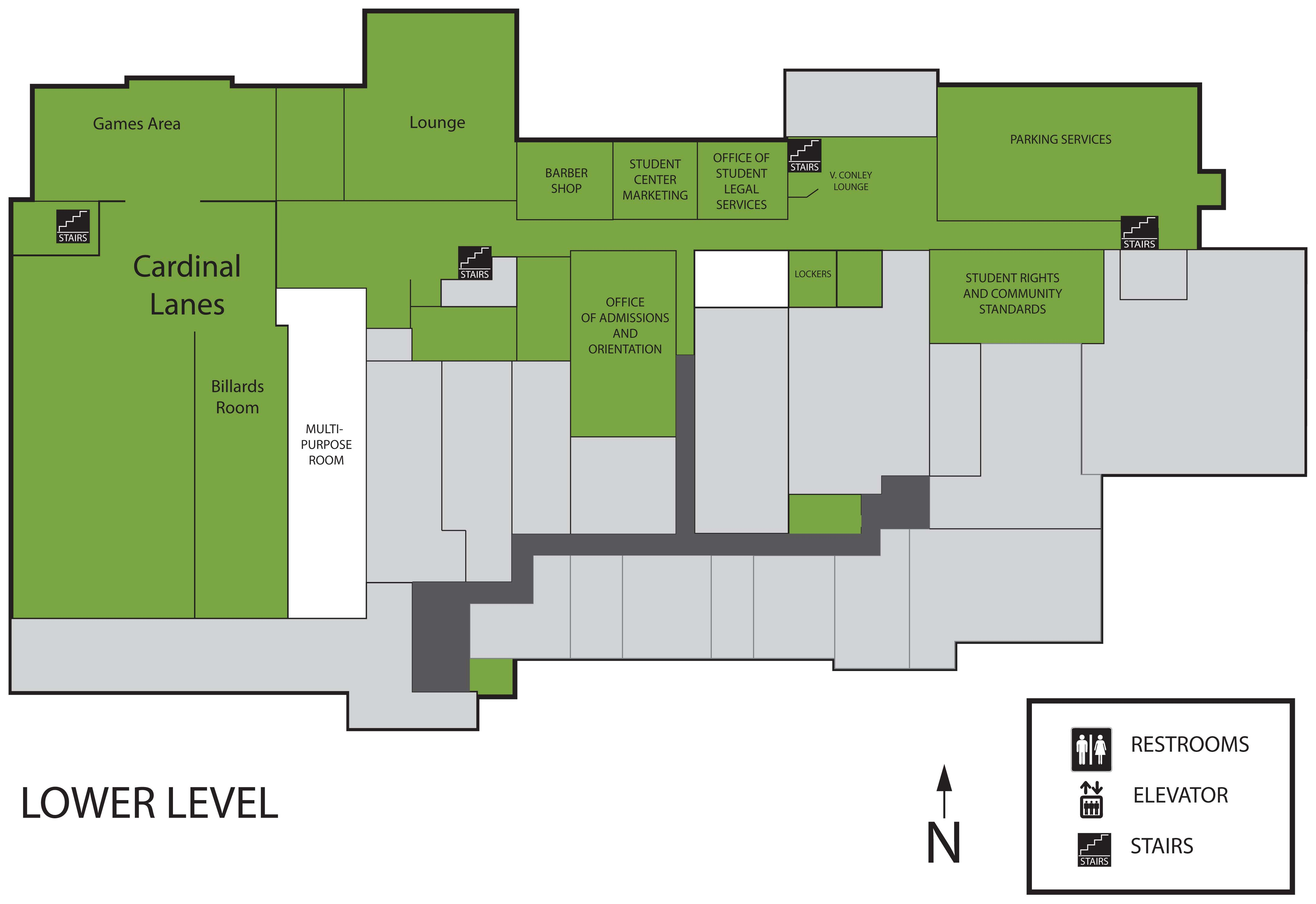 Floor Plan Student Center Ball State University Ball